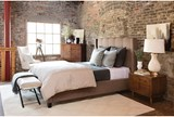 Damon II Eastern King Upholstered Platform Bed - Room