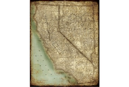 Picture-California Map II