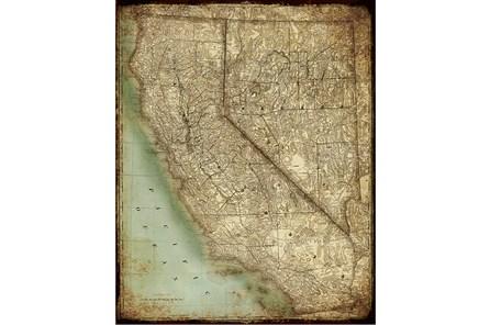 Picture-California Map II - Main