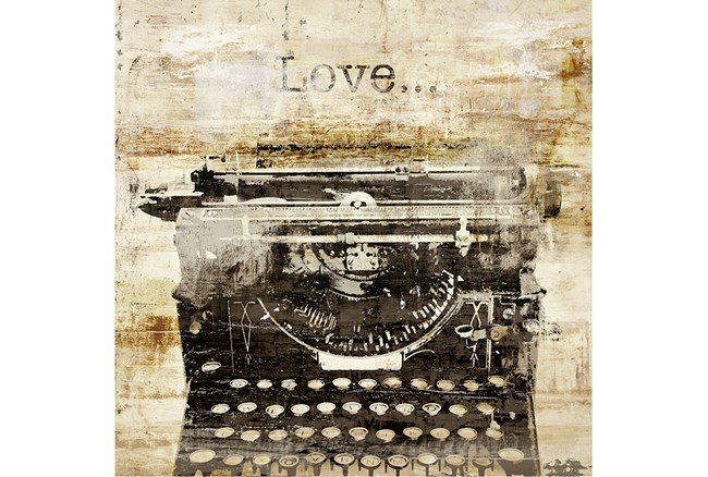 Picture-Typewriter Love - 360