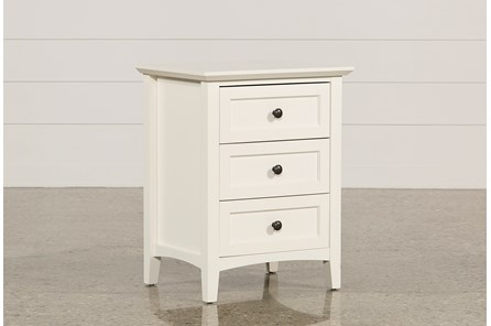 Copenhagen White Nightstand - Main