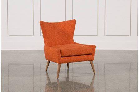 Tate Orange Accent Chair - Main
