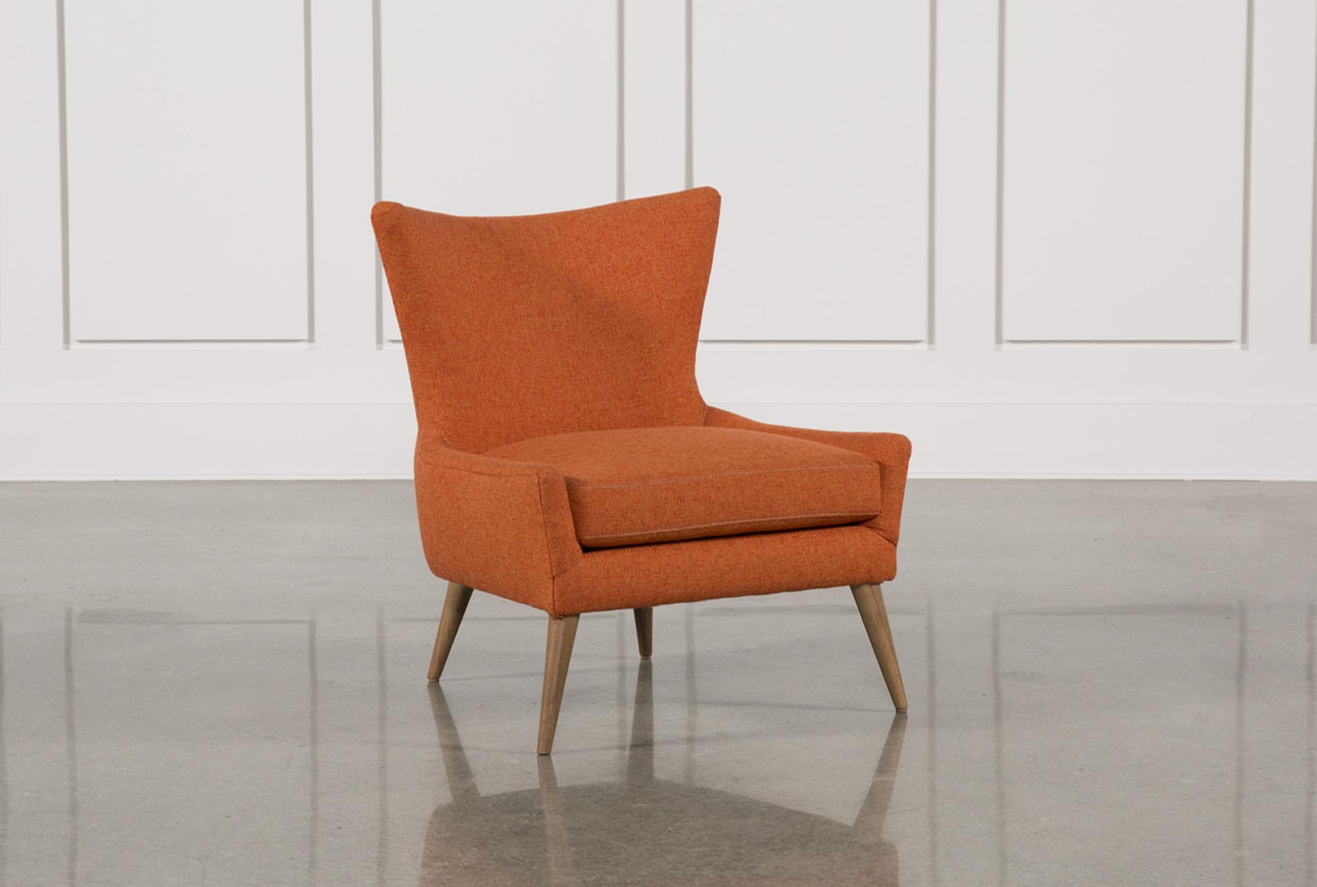Tate Orange Accent Chair