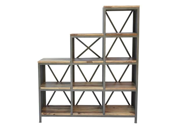Pradeep 9-Shelf Bookcase - 360