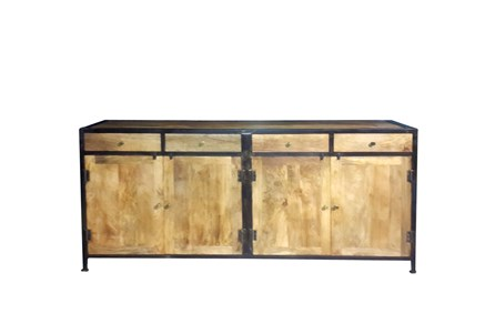 Rajah 4-Drawer/4-Door Sideboard