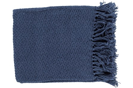 Accent Throw-Lyndon Navy - Main