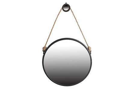 Mirror-Finnius Rope Round 30X30