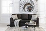 Alenya Charcoal Queen Sofa Sleeper - Room