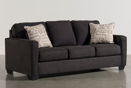 Alenya Charcoal Queen Sofa Sleeper