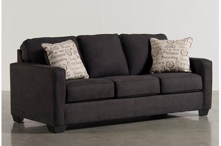 Alenya Charcoal Queen Sofa Sleeper - Main