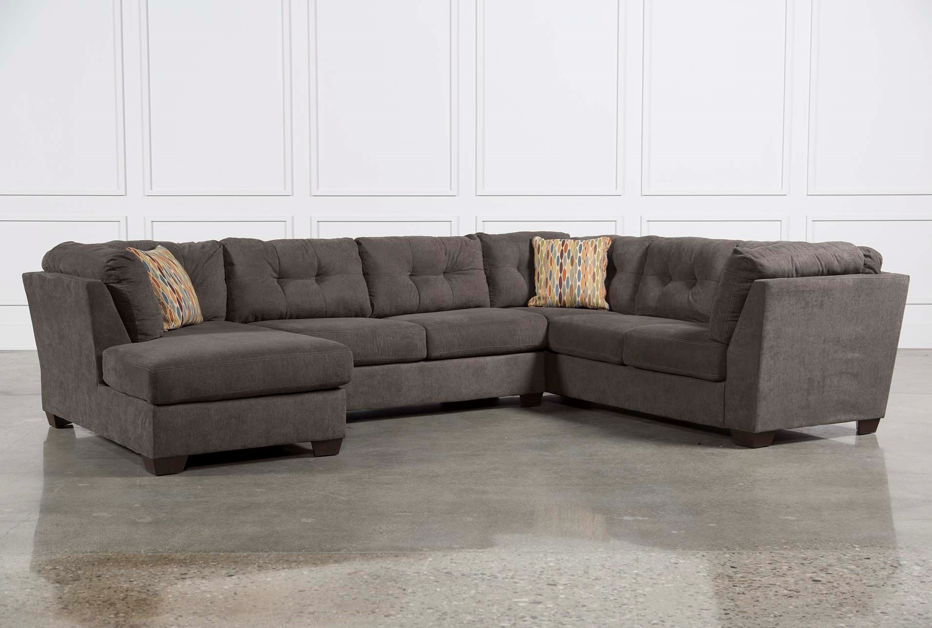 added to cart. delta city steel  piece sectional wsleeper  left facing chaise