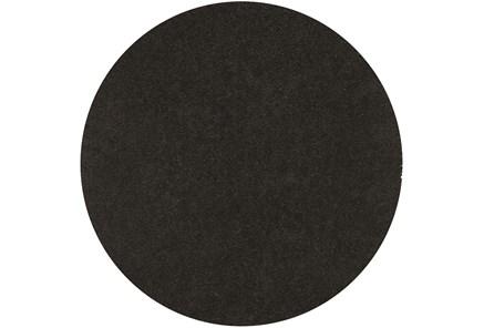 96 Inch Round Rug-Dolce Black - Main