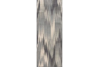 """1'9""""x7'3"""" Rug-Everly Watercolor"""