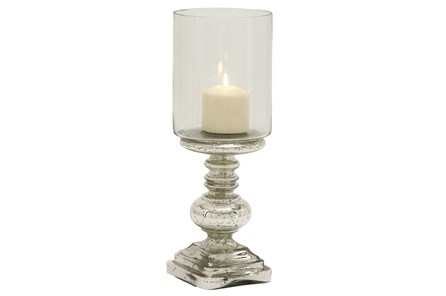 16 Inch Glass Candleholder - Main