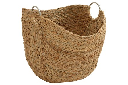 19 Inch Seagrass Basket - Main