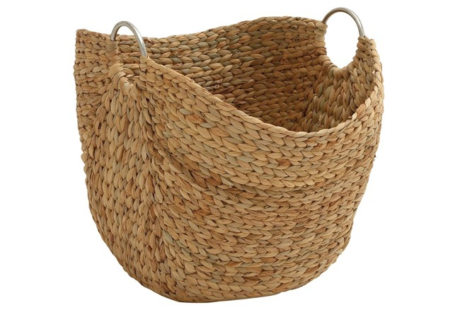 19 Inch Seagrass Basket - 360
