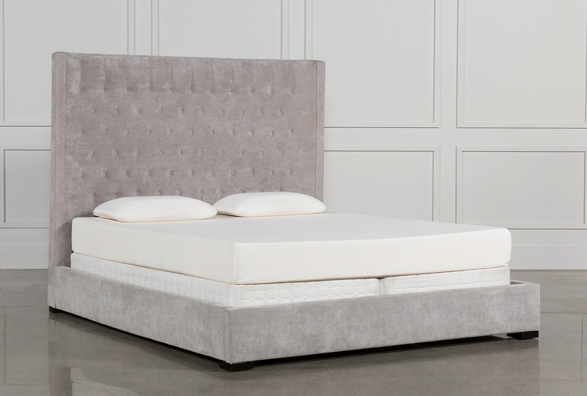 Madeline Eastern King Upholstered Panel Bed