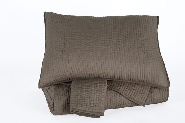 King Comforter Set-3 Piece Set Colleen Charcoal - 360