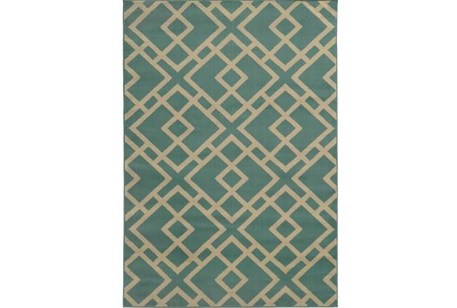 63X87 Rug-Adley Turquoise - 360
