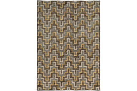 79X114 Rug-Felix Canary Geometric - Main