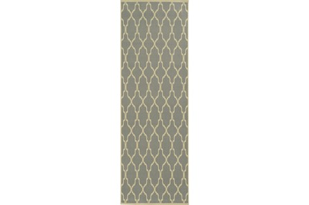 27X90 Rug-Montauk Grey - Main