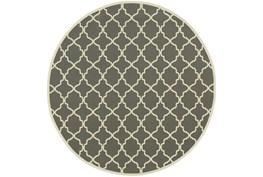 94 Inch Round Rug-Montauk Stone
