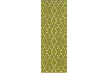 27X90 Rug-Montauk Lime