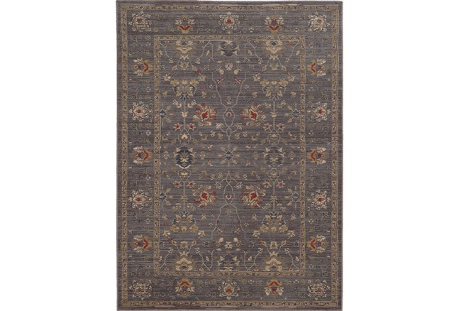 46X65 Rug-Carrington Traditions Blue/Gold - 360
