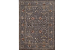 79X114 Rug-Carrington Traditions Blue/Gold