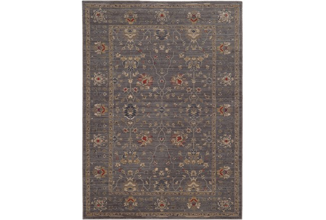 94X130 Rug-Carrington Traditions Blue/Gold - 360