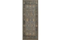31X112 Rug-Carrington Traditions Blue/Beige
