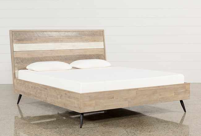 Kai Eastern King Platform Bed - 360