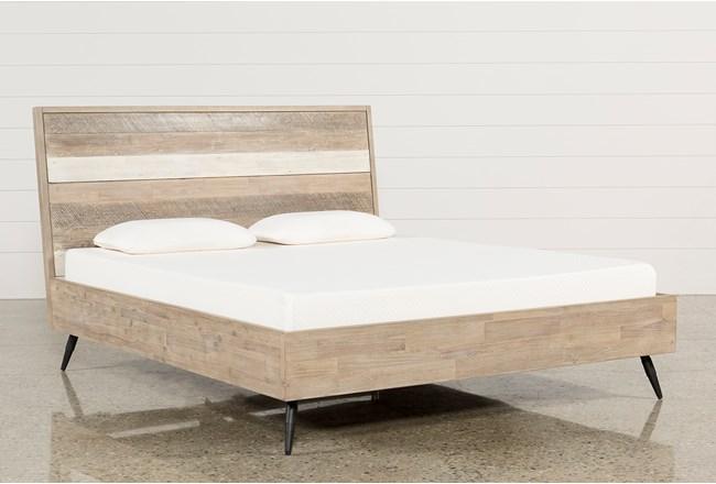 Kai Eastern King Platform Bed - 360