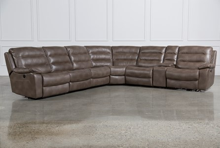 Lachlan 7 Piece Sectional W/2 Armless Chairs