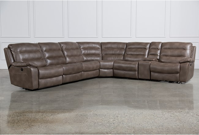 Lachlan 7 Piece Sectional W/2 Armless Chairs | Living Spaces