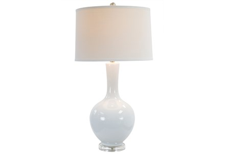 Table Lamp-Sloane White