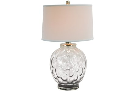 Table Lamp-Bubble Glass Clear