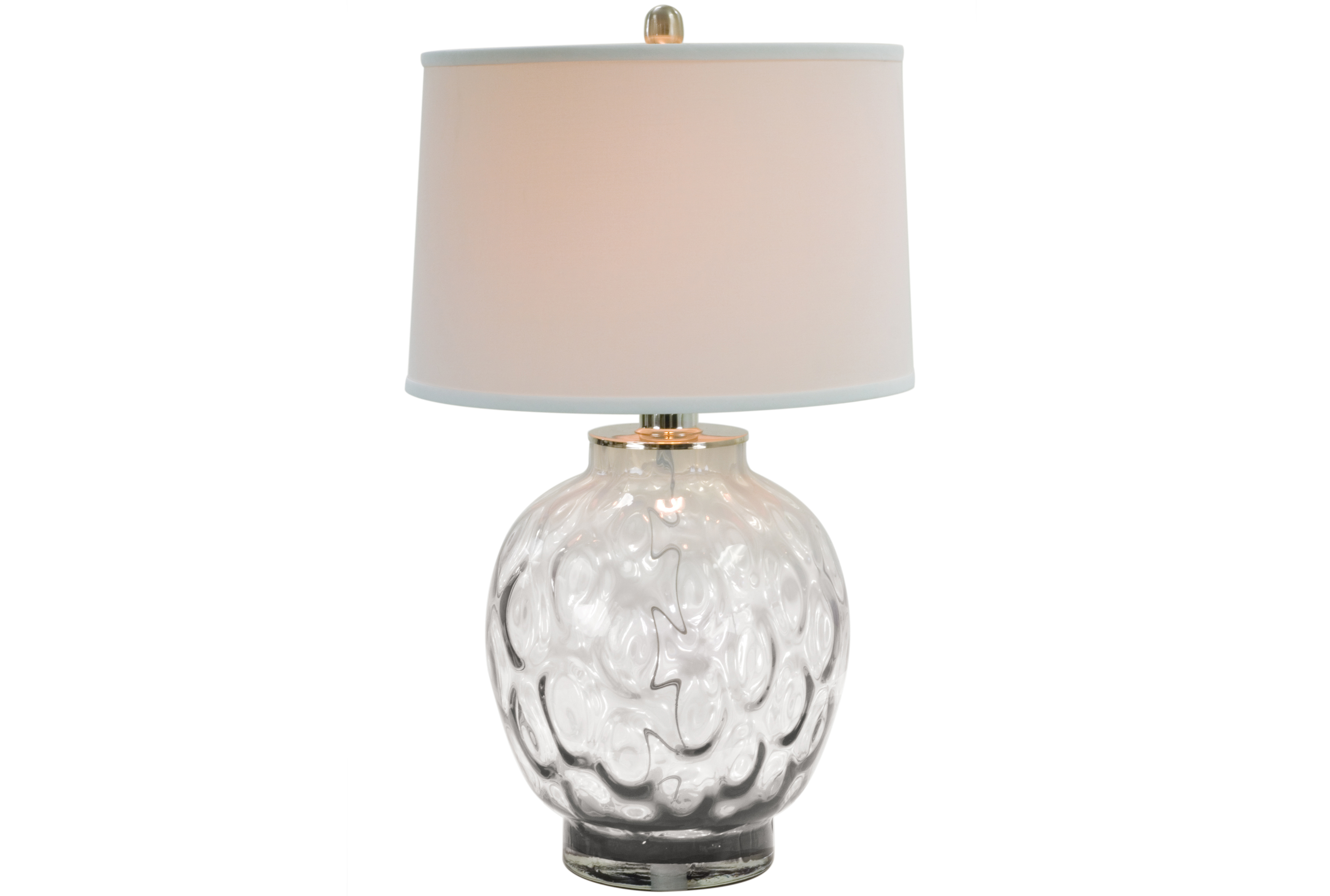 Charmant Table Lamp Bubble Glass Clear   360