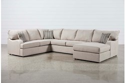 Meyer 3 Piece Sectional With Right Arm Facing Chaise