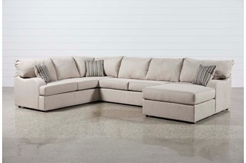 "Meyer 3 Piece 139"" Sectional With Right Arm Facing Chaise"