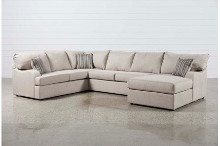Meyer 3 Piece Sectional W/Raf Chaise - Main