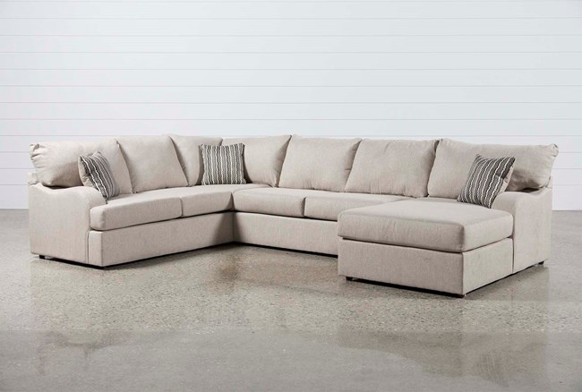 Meyer 3 Piece Sectional W/Raf Chaise - 360