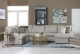 Meyer 3 Piece Sectional W/Raf Chaise - Room