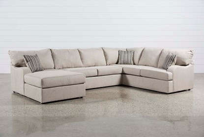 Strange Meyer 3 Piece Sectional With Left Arm Facing Chaise Uwap Interior Chair Design Uwaporg