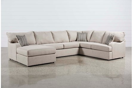 Meyer 3 Piece Sectional With Left Arm Facing Chaise