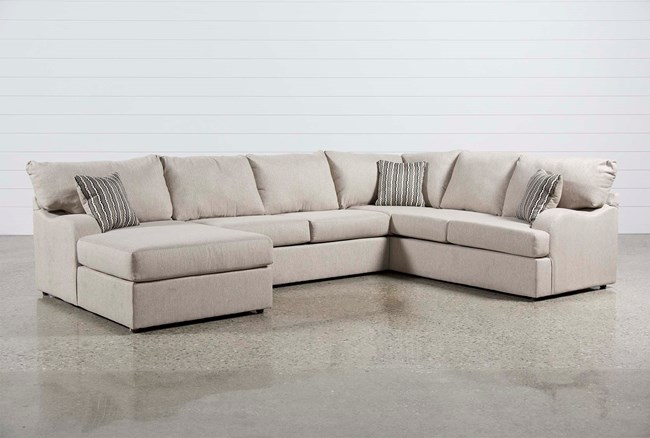 Meyer 3 Piece Sectional W/Laf Chaise - 360