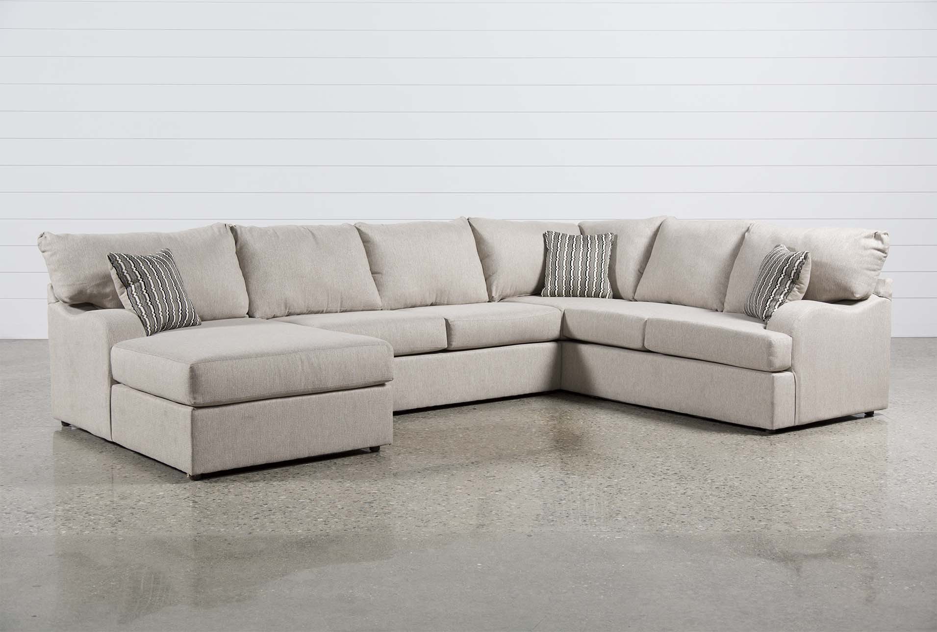 Meyer 3 Piece Sectional W/Laf Chaise