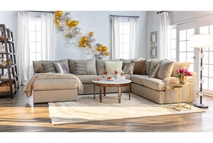 Phenomenal Meyer 3 Piece Sectional With Left Arm Facing Chaise Uwap Interior Chair Design Uwaporg
