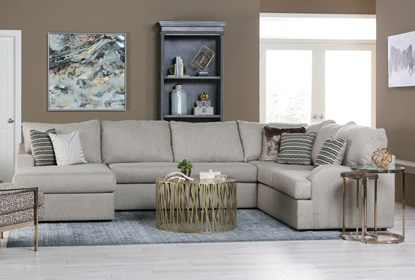 Tremendous Meyer 3 Piece Sectional With Left Arm Facing Chaise Uwap Interior Chair Design Uwaporg