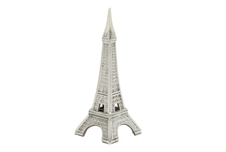 13 Inch Aluminum Eiffel Tower